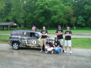 Agent Clint car & crew